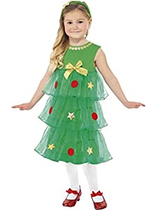 Little Christmas Tree Tutu Costume, Christmas Fancy Dress, Small Age 4-6