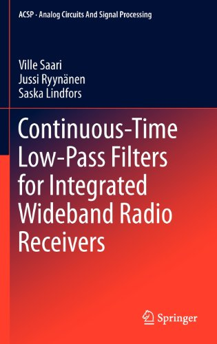 Continuous-Time Low-Pass Filters for Integrated Wideband Radio Receivers (Analog Circuits and Signal Processing)