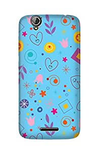 ZAPCASE PRINTED BACK COVER FOR ACER LIQUID Z630S