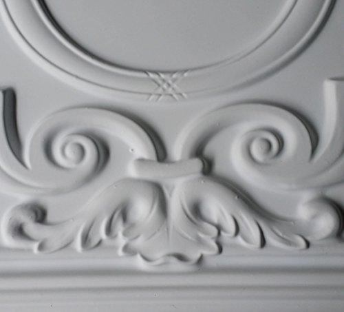 PL15en étain 3D Dalles de plafond Panneaux muraux décoratifs Fond Blanc mat pour estamper photosgraphie 10pieces/Lot