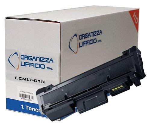 Toner Compatibile MLT-D116L NERO per Samsung 3.000 Pagine XPRESS SL-M2625, SL-M2625D, SL-M2675F, SL-M2675FN, SL-M2675N, SL-M2825ND, SL-M2825DW, SL-M2875FD, SL-M2875FW, SL-M2875ND, SL-M2885FW, SL-M2886. Durata 3.000 Pagine al 5% di copertura.