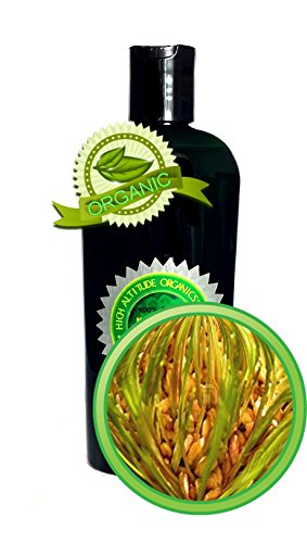 100% Pure Wheat Germ Oil Virgin, Unrefined, Cold-Pressed - Richest Sources Of Vitamin E, A And D, Lecithin And Beta Carotene - 8Oz - By High Altitude Organics