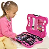 Delightful Hello Kitty Cosmetic Vanity Case with Handy H8' Storage Bag