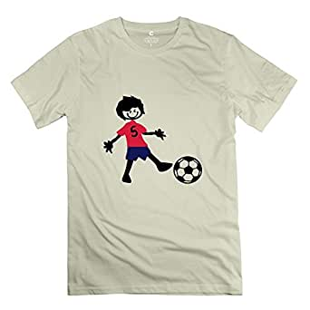 Mksd Cool Football Player Boy 2 Design T Shirt