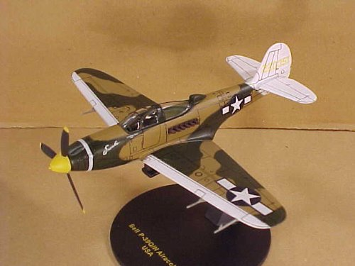 IXO JUNIOR MODELS 1/72 Scale Prefinished Fully-Detailed Diecast Model, US Army Air Force WWII Bell P-39Q/N Airacobra, Serial 220315, 'Snooks' with 'Lt. William Shomo, Pilot' indicated under both sides of the canopy PIXJ000032