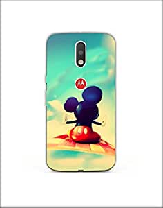 Moto g4 plus ht003 (93) Mobile Case by Mott2 - Flying Mouse (Limited Time Offers,Please Check the Details Below)