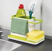 3 IN 1 Stand for Kitchen Sink for Dishwasher Liquid, Brush, Sponge etc.