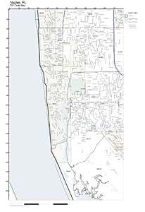 Amazon.com - ZIP Code Wall Map of Naples, FL ZIP Code Map ...