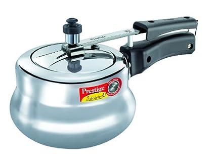Prestige-11651-Nakshatra-Plus-Aluminium-2-L-Pressure-Cooker-(Induction-Base,Inner-Lid)