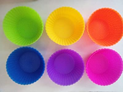 "Camptagâ""¢24-pack Reusable Silicone Baking Cups"