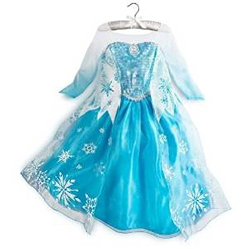 Rush Dance Queen Snow Snowflake Dress Costume Cosplay