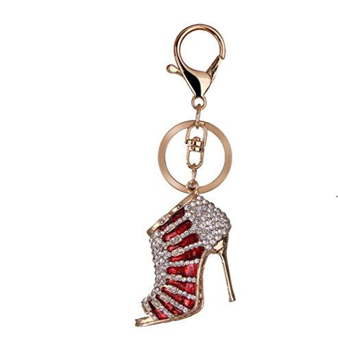 rhinestone-high-heel-pendant-charm-keyring-keychain-with-lobster-clasp-red