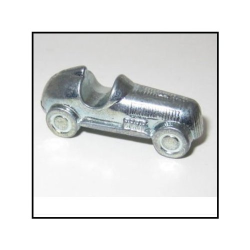 Race Car Genuine Monopoly Token - 1