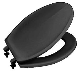 Beneke 420 Black Plastic Toilet Seat