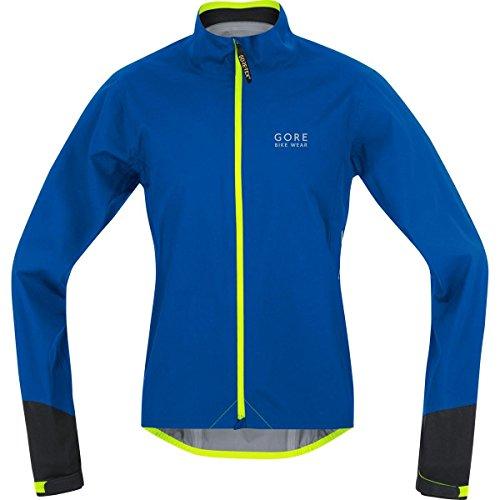 Gore Bike Wear JGPOWR609906 Giacca Uomo Ciclismo su strada, Impermeabile, GORE-TEX Active, POWER GT AS, Taglia XL, azzurro brillante/nero