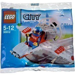 LEGO City Mini Figure Set #30012 Mini Airplane Bagged - 1