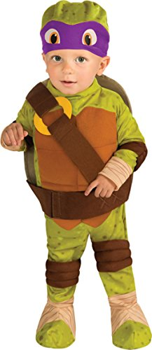 Toddler Teenage Mutant Ninja Turtles Donatello Costume Size:Infant