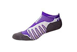 K-Swiss Max iMPACT Blade Max Socks - Womens - white/deep lavender, medium