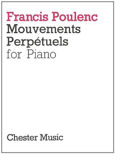 Francis Poulenc: Mouvements Perpetuels