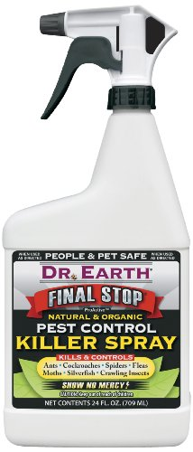 Dr. Earth 8000 Ready to Use Pest Control Killer Spray, 24-Ounce