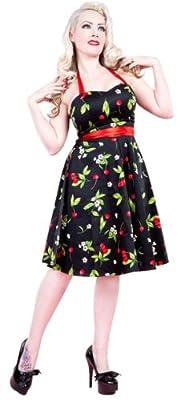 H&R London Women's Floral 50's Dress