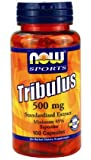 Now Foods Tribulus 500 mgMin 45% Saponins 100 Capsules