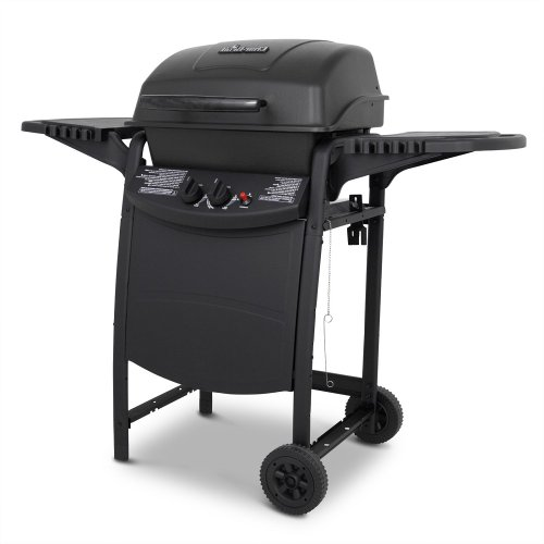 Charbroil Portable Propane Grill On Wheels Freestanding Balcony Patio Outdoor Oven BBQ Camping Grill