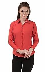 Shoprillo Women's formal & Casual Poly Cotton Shirts SHIRTS_FS_707_L