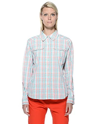 The North Face Camisa L/S Paramount Gris / Blanco