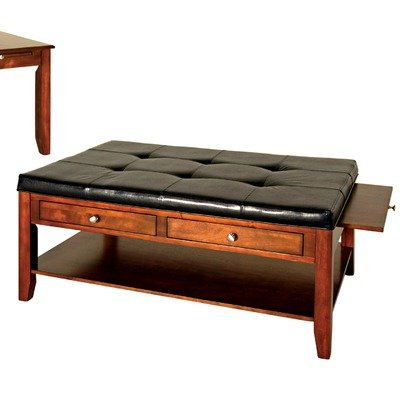 Buy low price lancaster regency style light linen coffee table ottoman 206 gs coffee table Linen ottoman coffee table