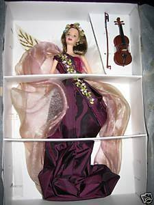 Barbie Angels Of Music Collection Heartstring Angel Doll
