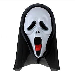 Topbill Anime Halloween Masks Cosplay Party Horror (B)
