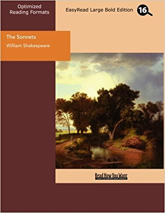 The Sonnets (EasyRead Large Bold Edition)
