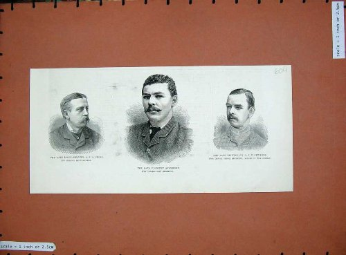 hommes-1885-de-guerre-de-colonel-cross-vicomte-avonmore-edwards