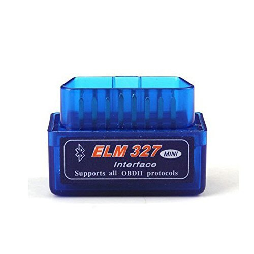ELM327 Latest Version V2.1 Bluetooth Super Mini ELM327 OBD2 II Scan Tool Car Auto Diagnostic Tool for Windows (blue) (Elm327 Free Software Download compare prices)