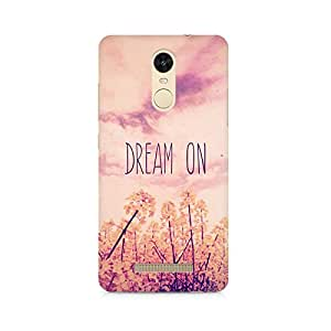 TAZindia Printed Hard Back Case Cover For Xiaomi Redmi Note 3
