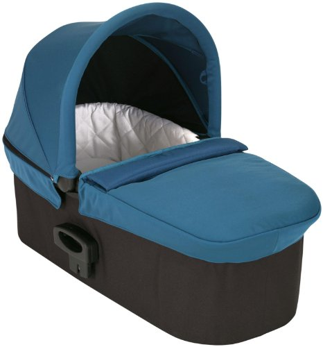 Baby Jogger Deluxe Pram, Teal front-949663