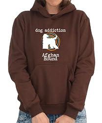 DOG ADDICTION Afghan Hound Womens Hoodie