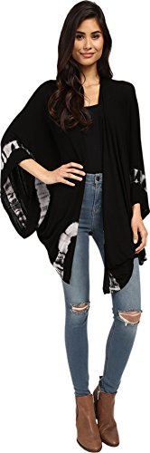 Volcom Women's Highest Highs Wrap Black Blouse One Size (Tie Dye Volcom compare prices)
