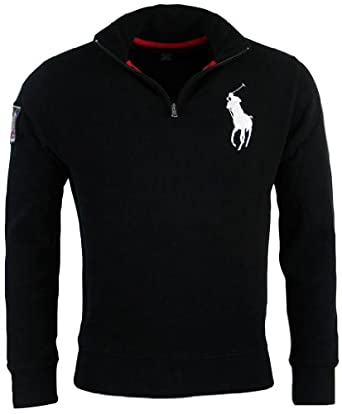 Buy Polo Ralph Lauren Mens French Rib Big Pony Logo Pullover by Polo Ralph Lauren