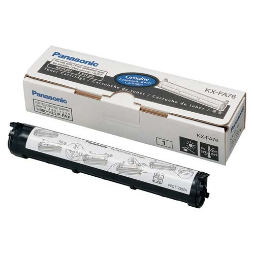Toner Cartridge, For KX-FL501/FL521, 2000 Page Yield (Panasonic Fl501 Fax Machine compare prices)