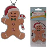 Gingerbread Man Shaped Spiced Christmas Air Freshener