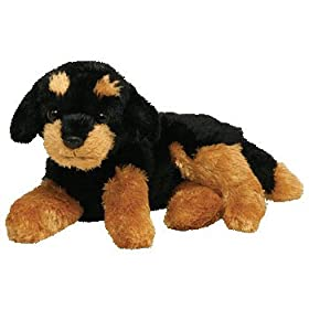 stuffed rottweiler