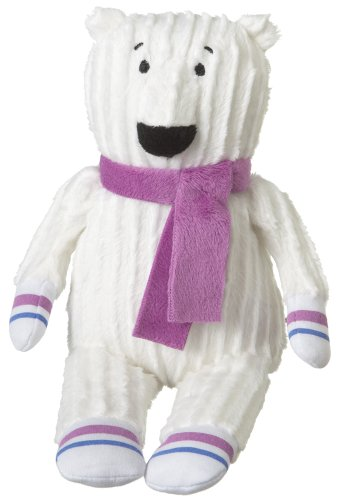 "Monkeez ""Bonzo"" Mini White Polar Bear Plush"