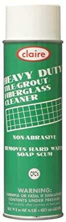 Claire C-881 19 Oz. Tile & Grout Cleaner Aerosol Can (Case of 12)