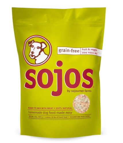 Sojos Grain-Free Dog Food Mix, 8 lb