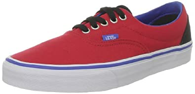 Vans Unisex-Adult Era Trainers, Red, 4 UK