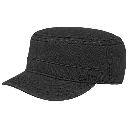 flexform-armycap-bugatti-fullcap-baumwollstretch-l-schwarz