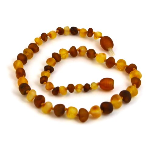 "Hazelaid (TM) 14"" Baltic Amber Nutmeg & Lemondrop Necklace - 1"