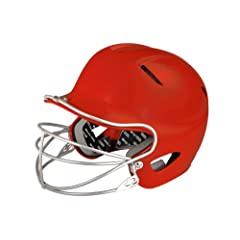 Buy Easton Natural Senior Batting Helmet with Mask by Easton